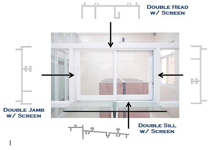 traditional sd series aluminum windows