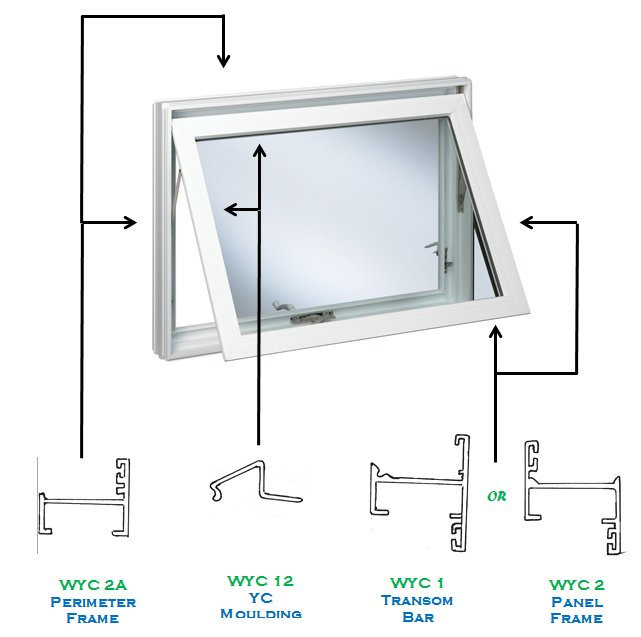acumaster WYC series aluminum windows
