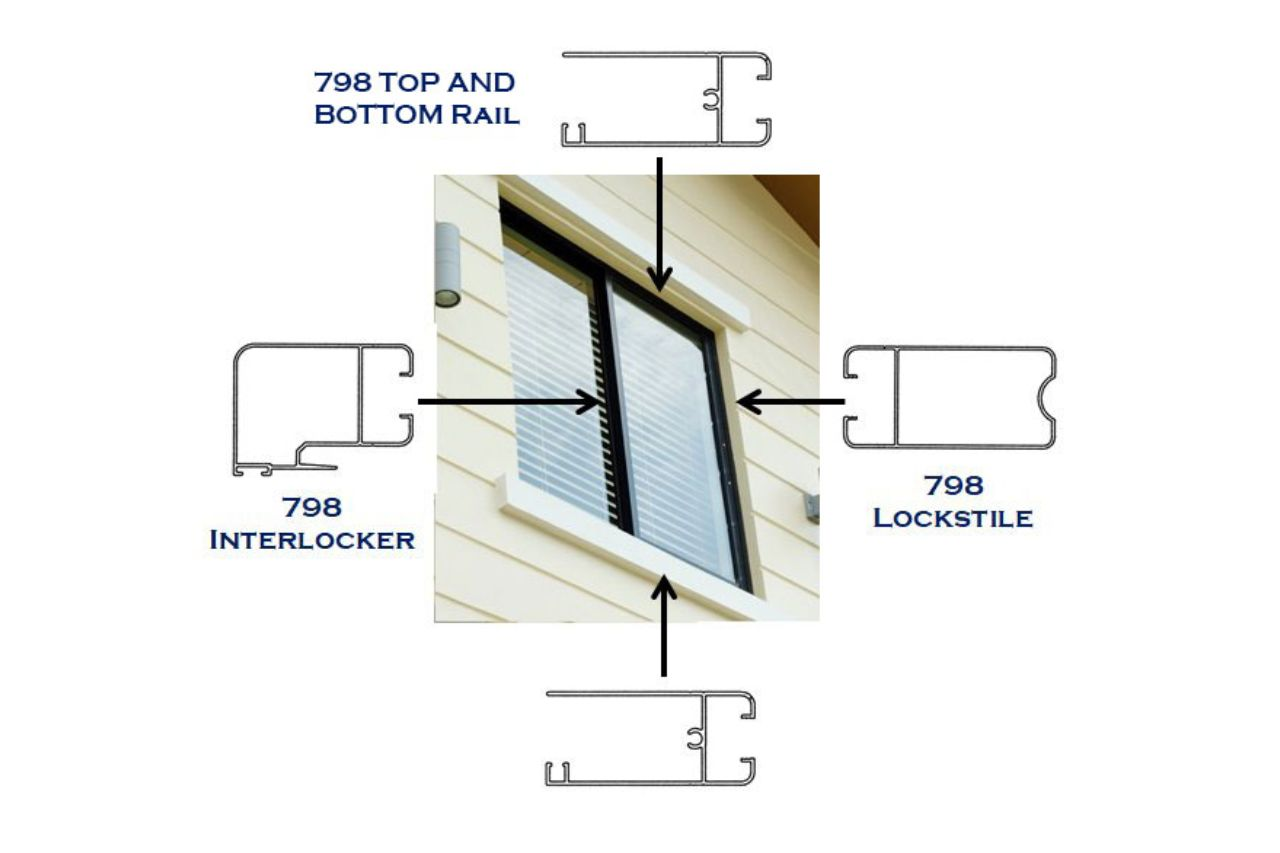 Acumaster's 798 Series Aluminum Window